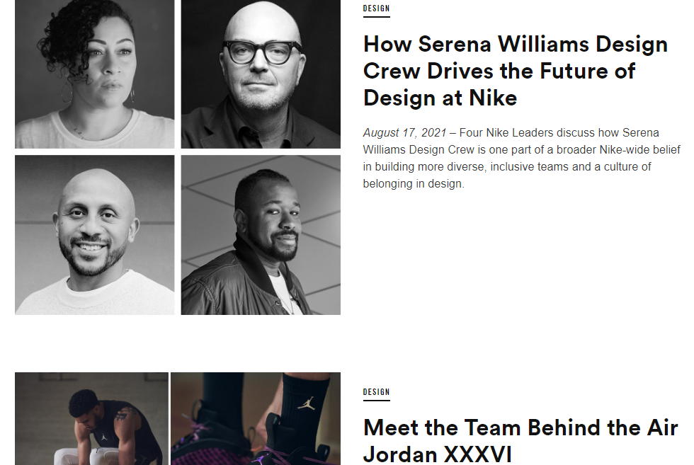 Nike talks about Serena Williams' impact on design