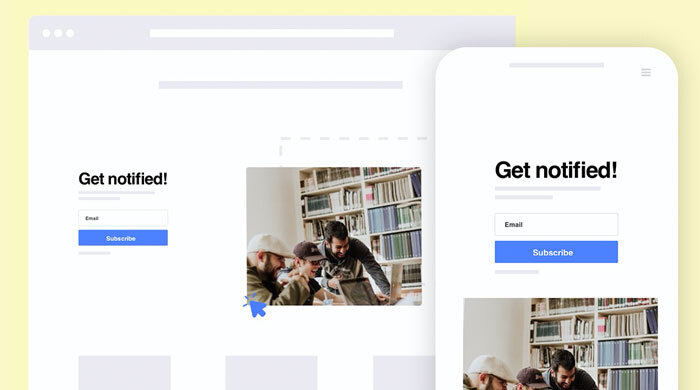 Mobile friendly templates