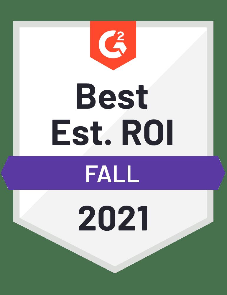 Best ROI Badge