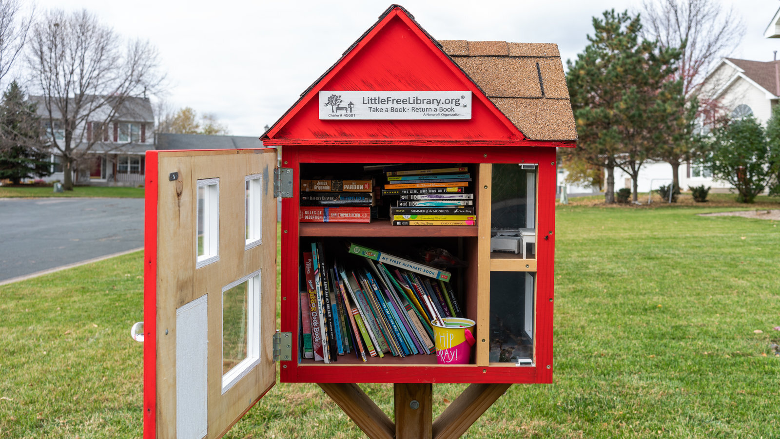 Bringing tiny libraries home