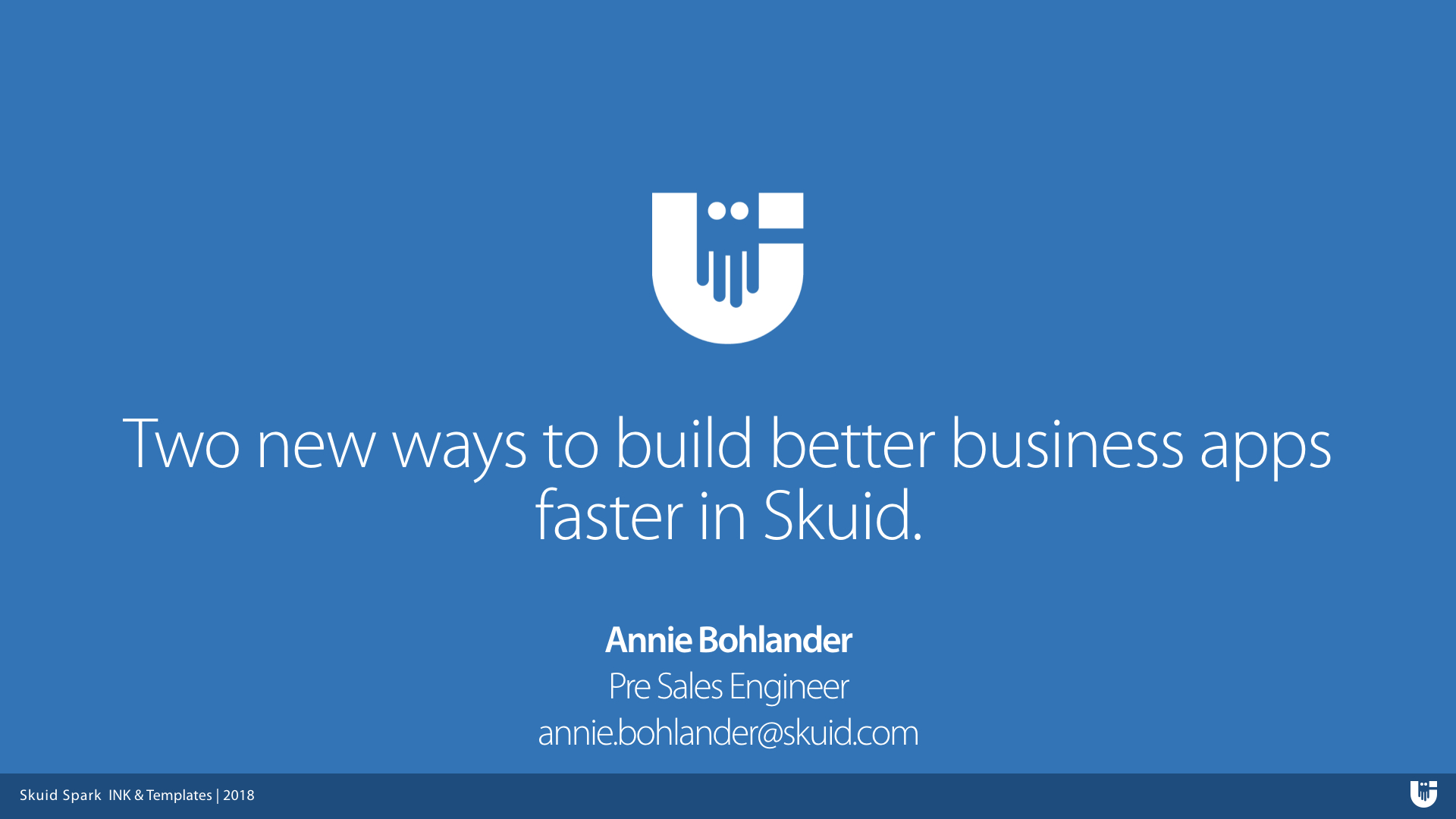 Two new ways to build better business apps faster in Skuid.