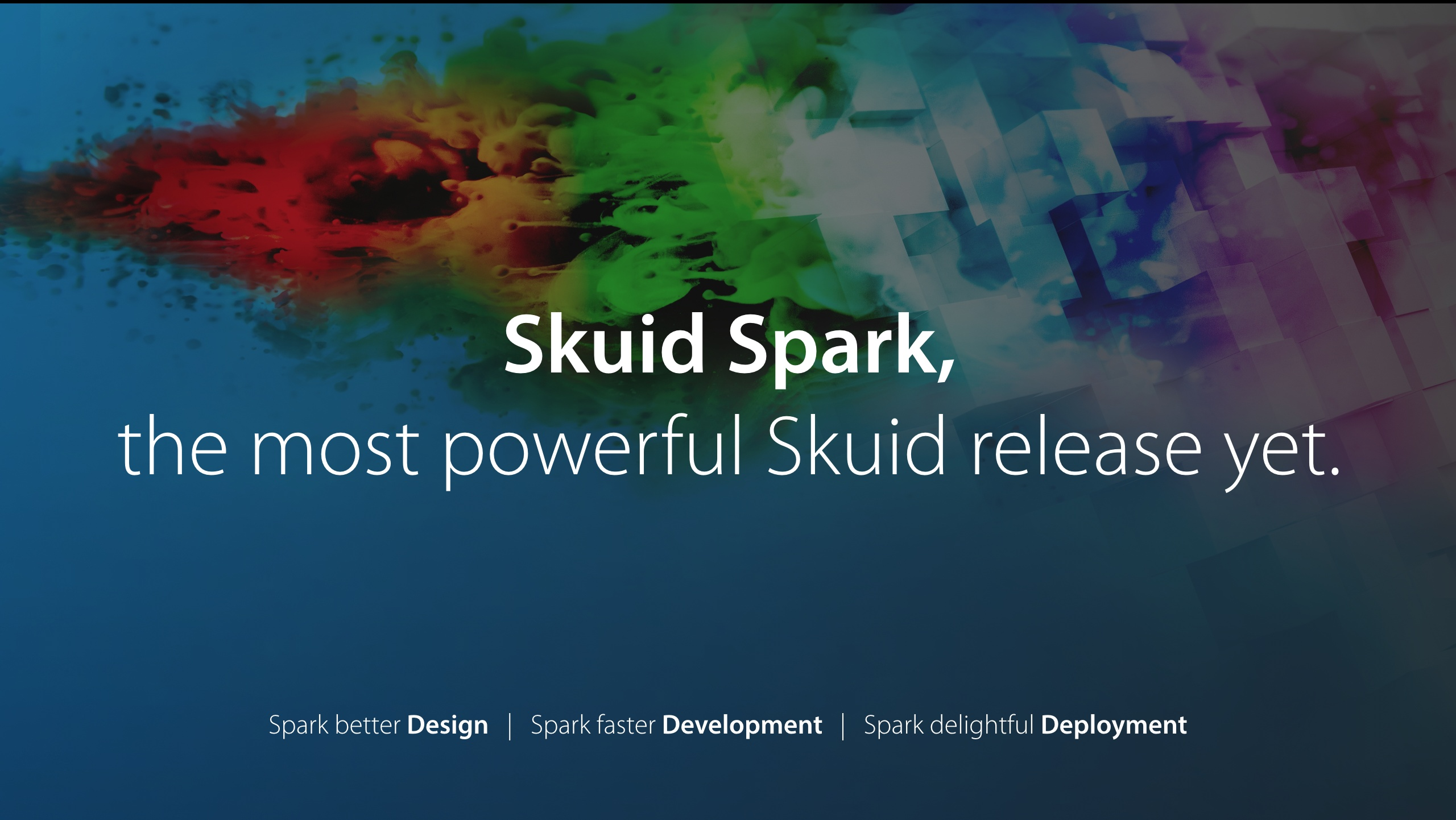 Reimagine enterprise applications with Skuid Spark