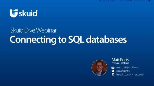 Build amazing apps with SQL data