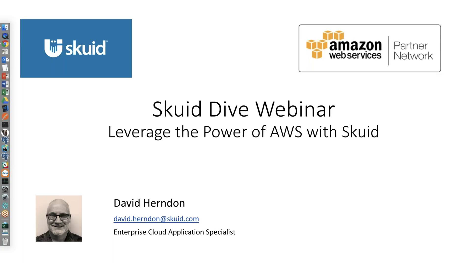 Leverage the power of AWS with Skuid