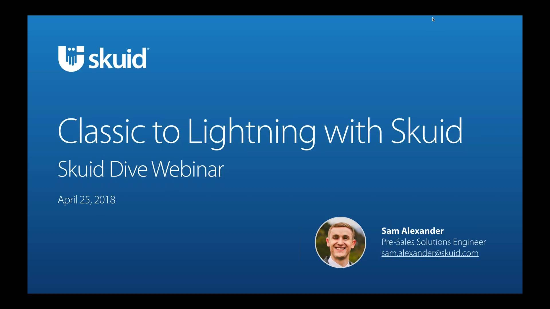 Classic to Lightning with Skuid
