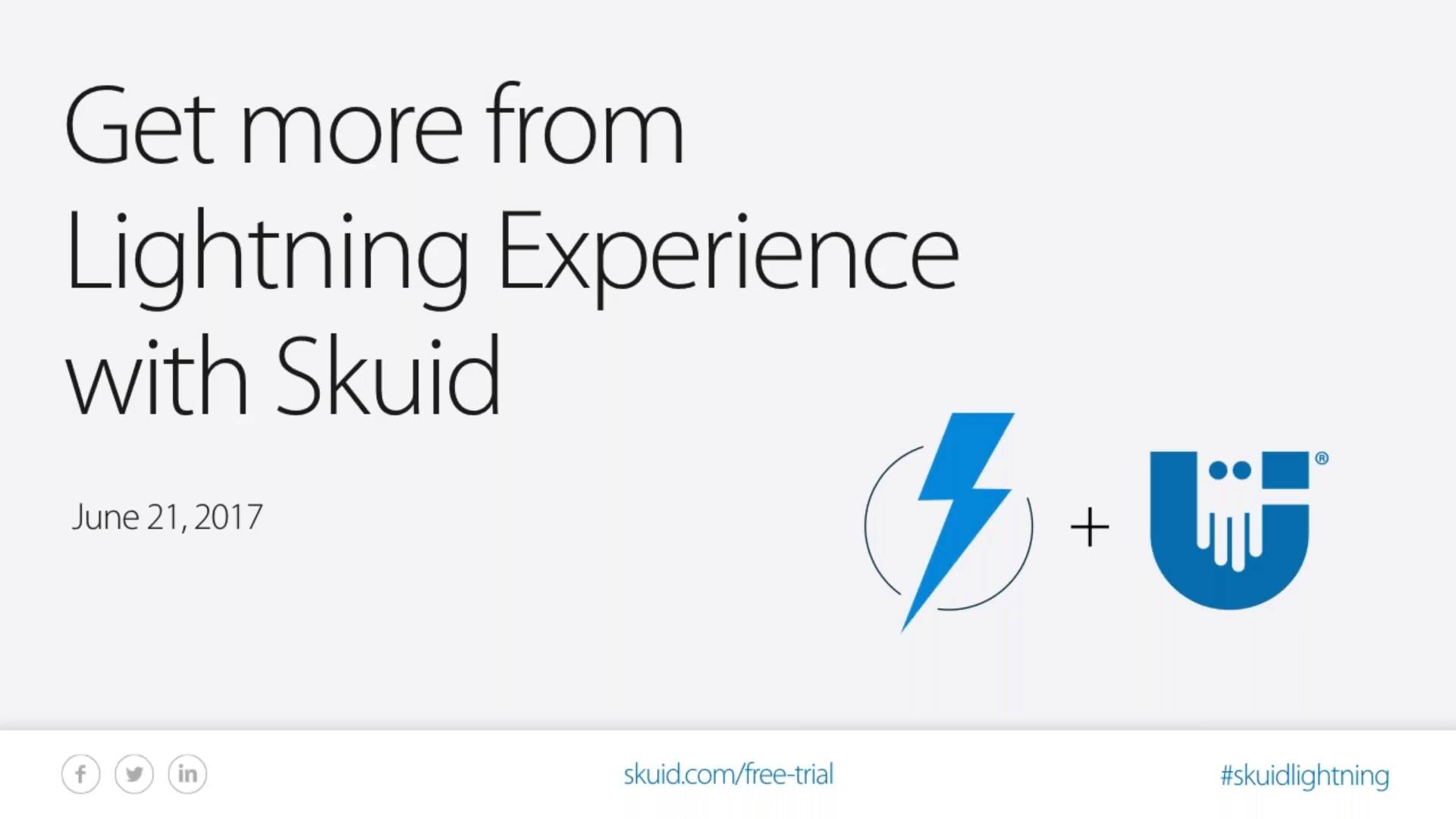 Get more from Lightning Experience with Skuid