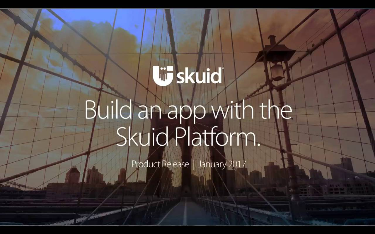 Build an app with the Skuid Platform