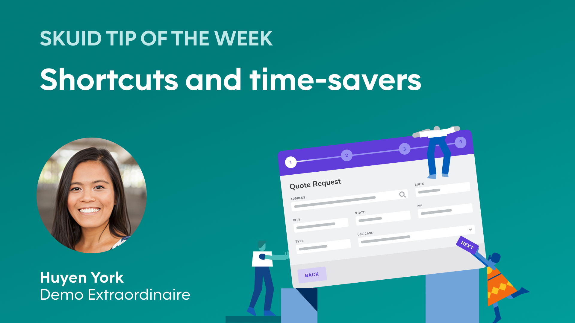Shortcuts and time-savers | Skuid tip of the week