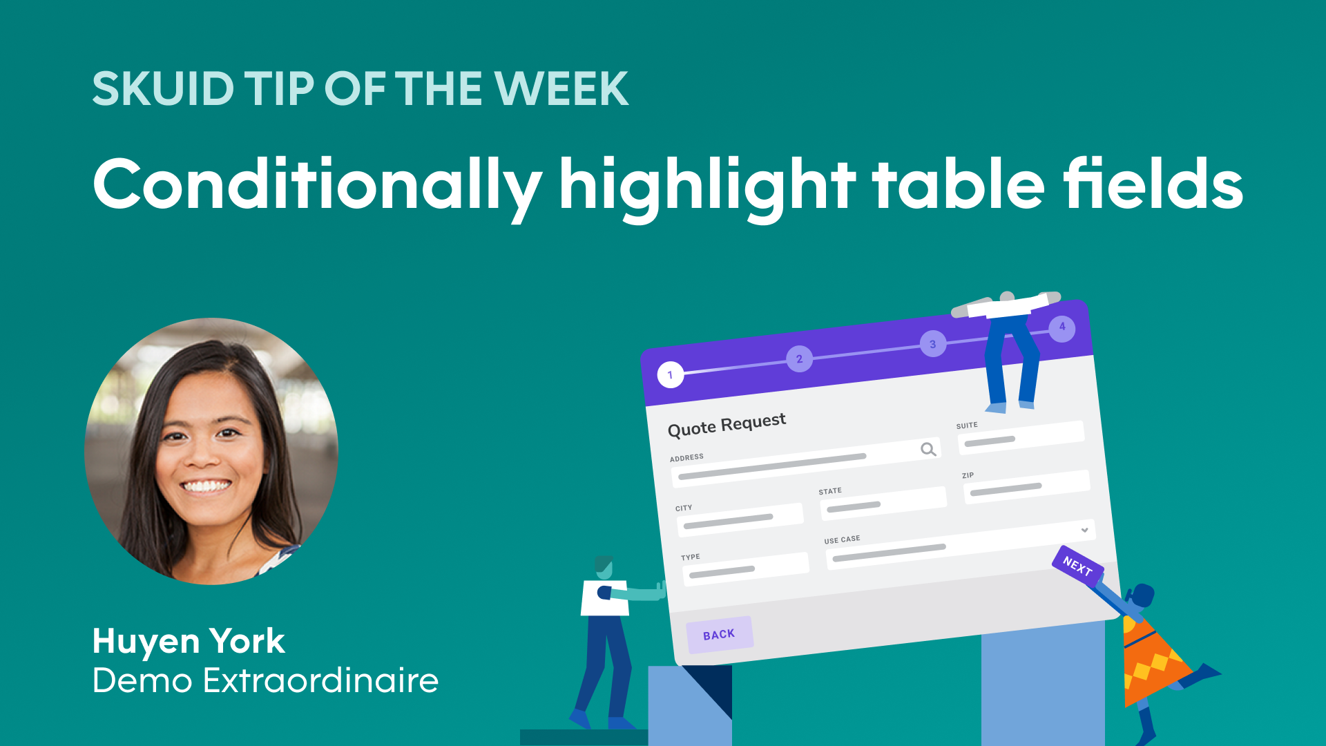 Conditionally highlight table fields | Skuid tip of the week