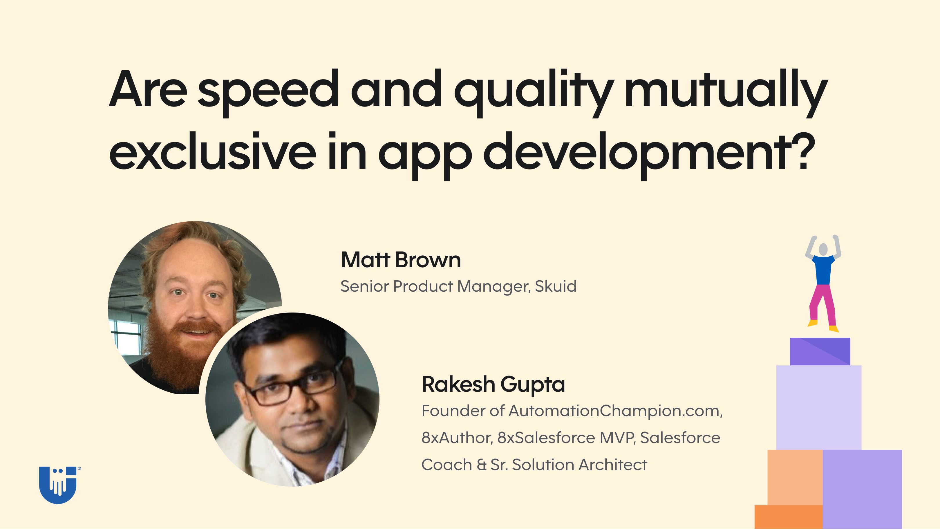 Are speed and quality mutually exclusive in app development?