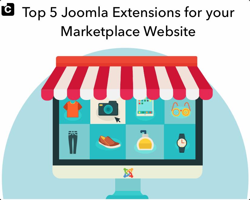 Top 5 Joomla Extensions for your Marketplace Website