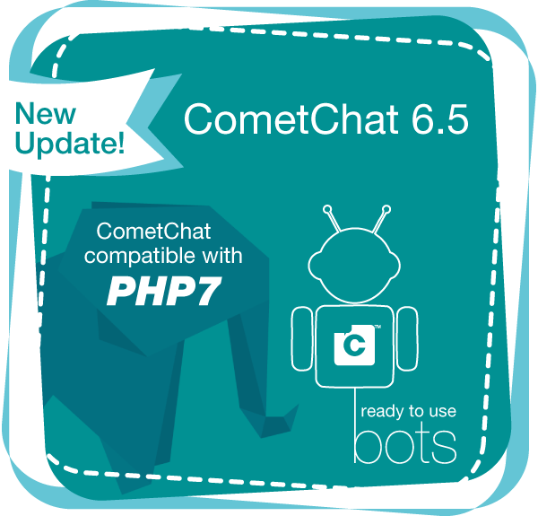 CometChat 6.5 Now Available With Ready-to-use Chat Bots