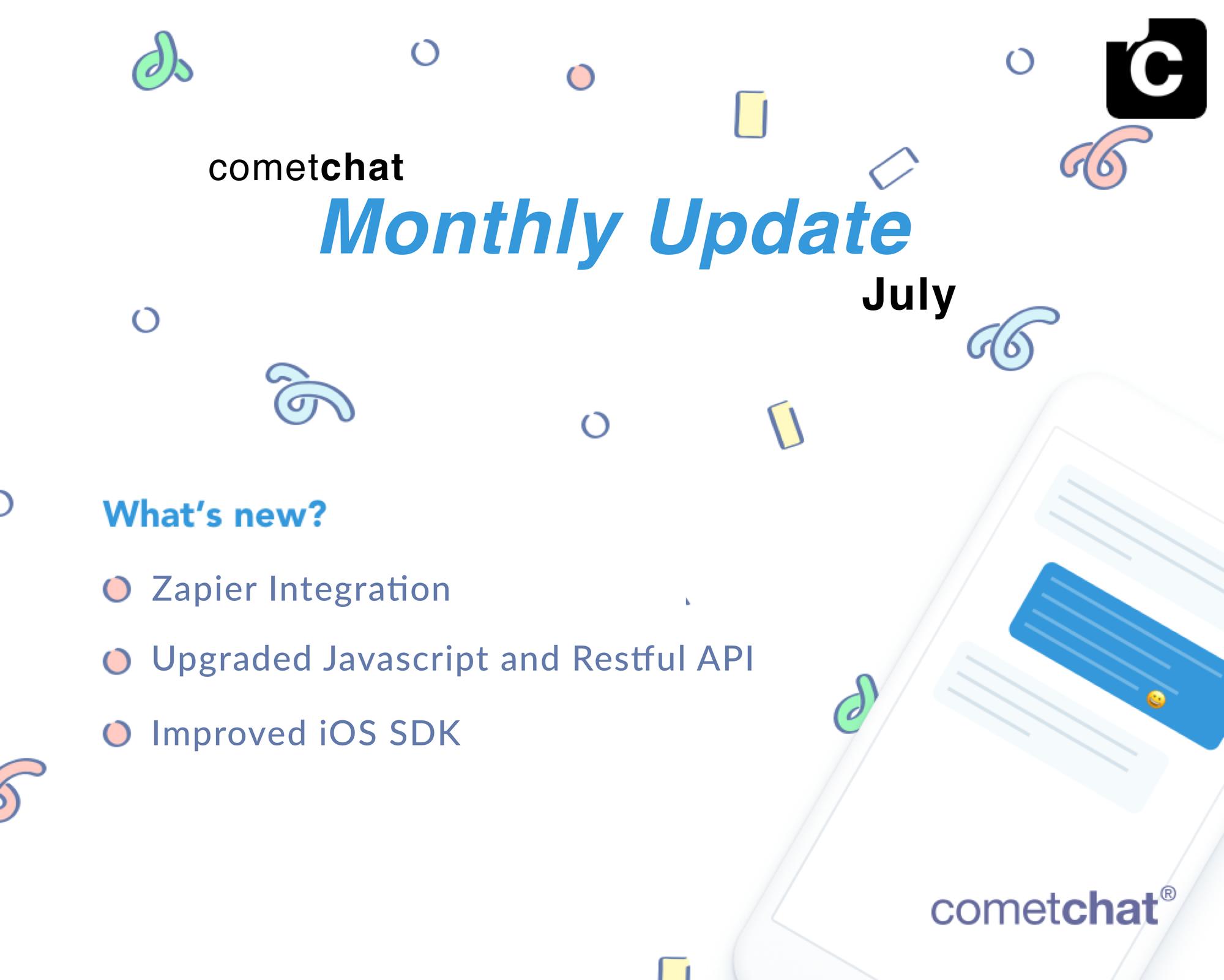 July Update: Zapier Integration, Improved SDKs & More