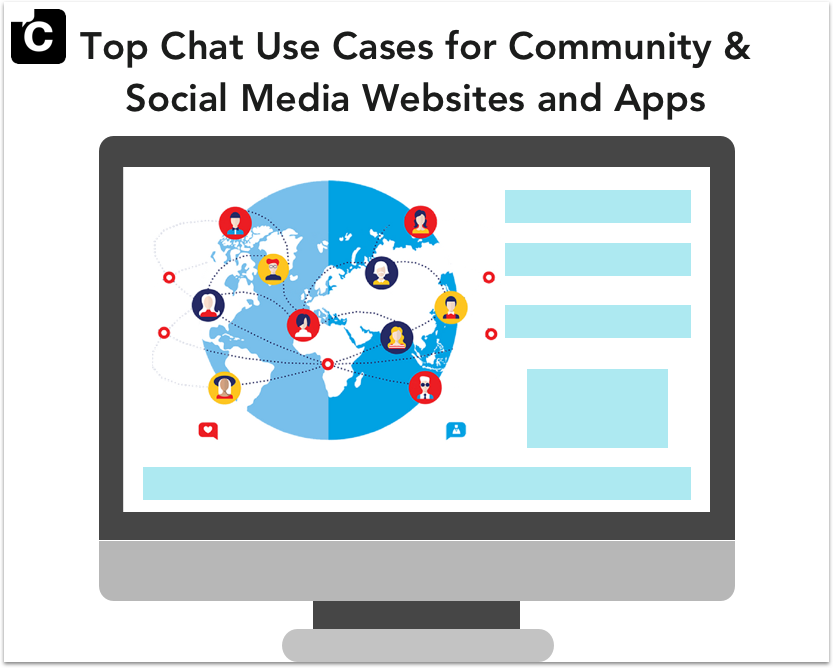 Top Chat Use Cases for Community & Social Media Websites and Apps