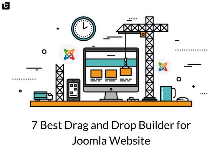 7 Best Drag and Drop Builders for Joomla Website
