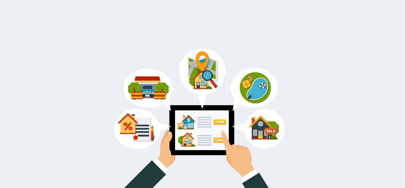 How in-app messaging can help online real estate business