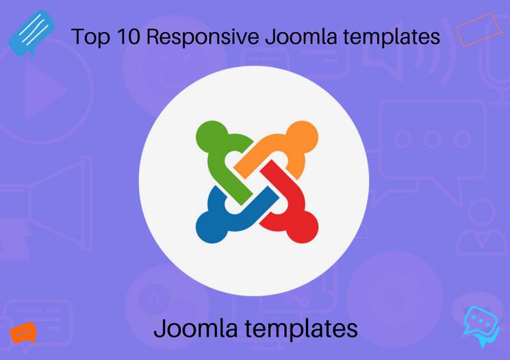 Top 10 Fresh Responsive Joomla templates