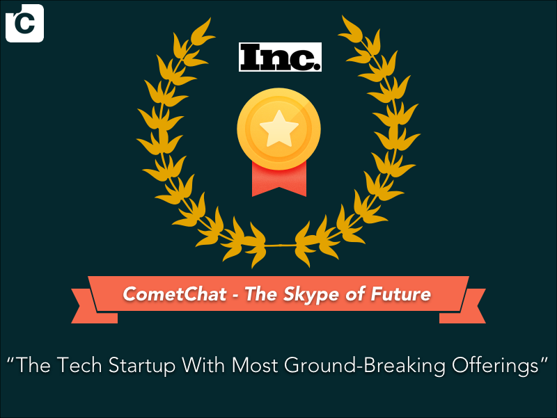 CometChat featured on Inc.com!