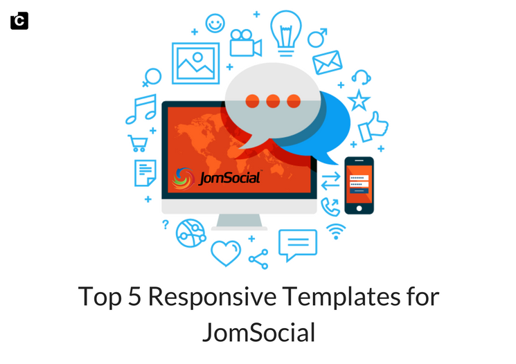 Top 5 Responsive Templates for JomSocial 2018