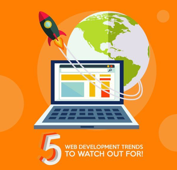 5 Web Development Trends to Watch Out for!