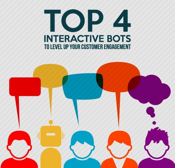 Top 4 Interactive Bots to Level Up Your  Customer Engagement
