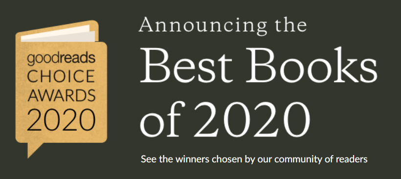 Goodreads community votes for the Best Book of the Year Awards