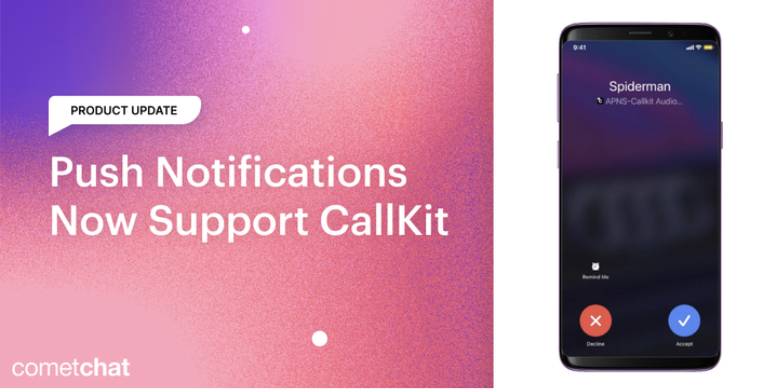 Product Update: Push Notifications Now Support CallKit