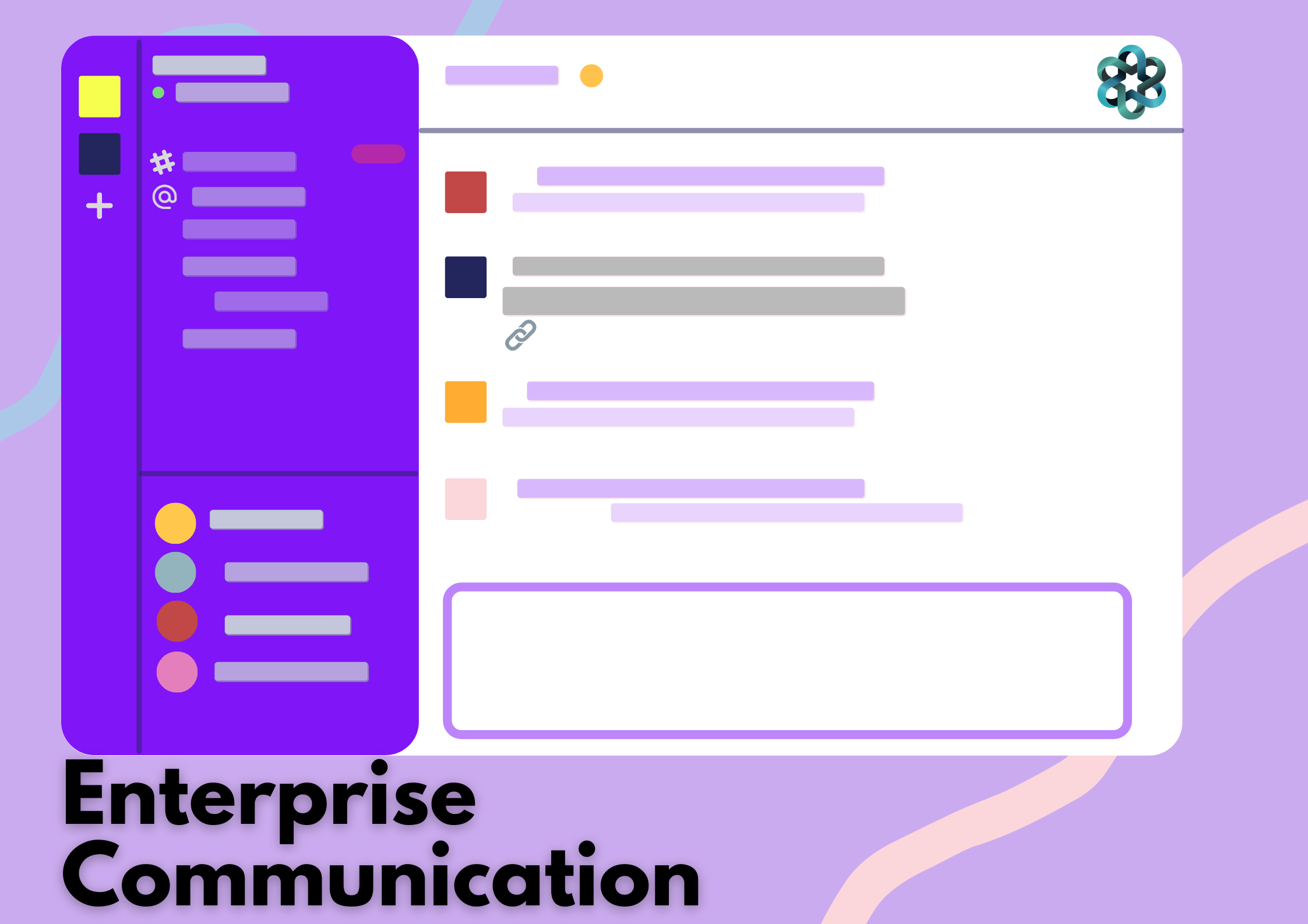 Secure and Customized Chat for Enterprises