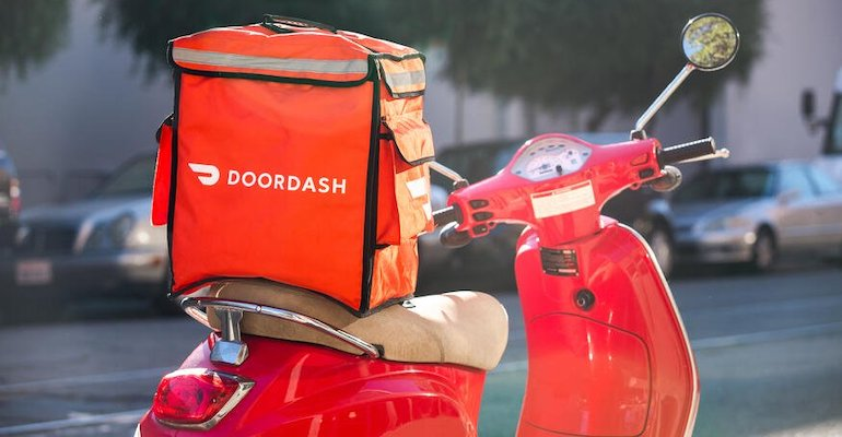 Image of DoorDash Delivery Moped