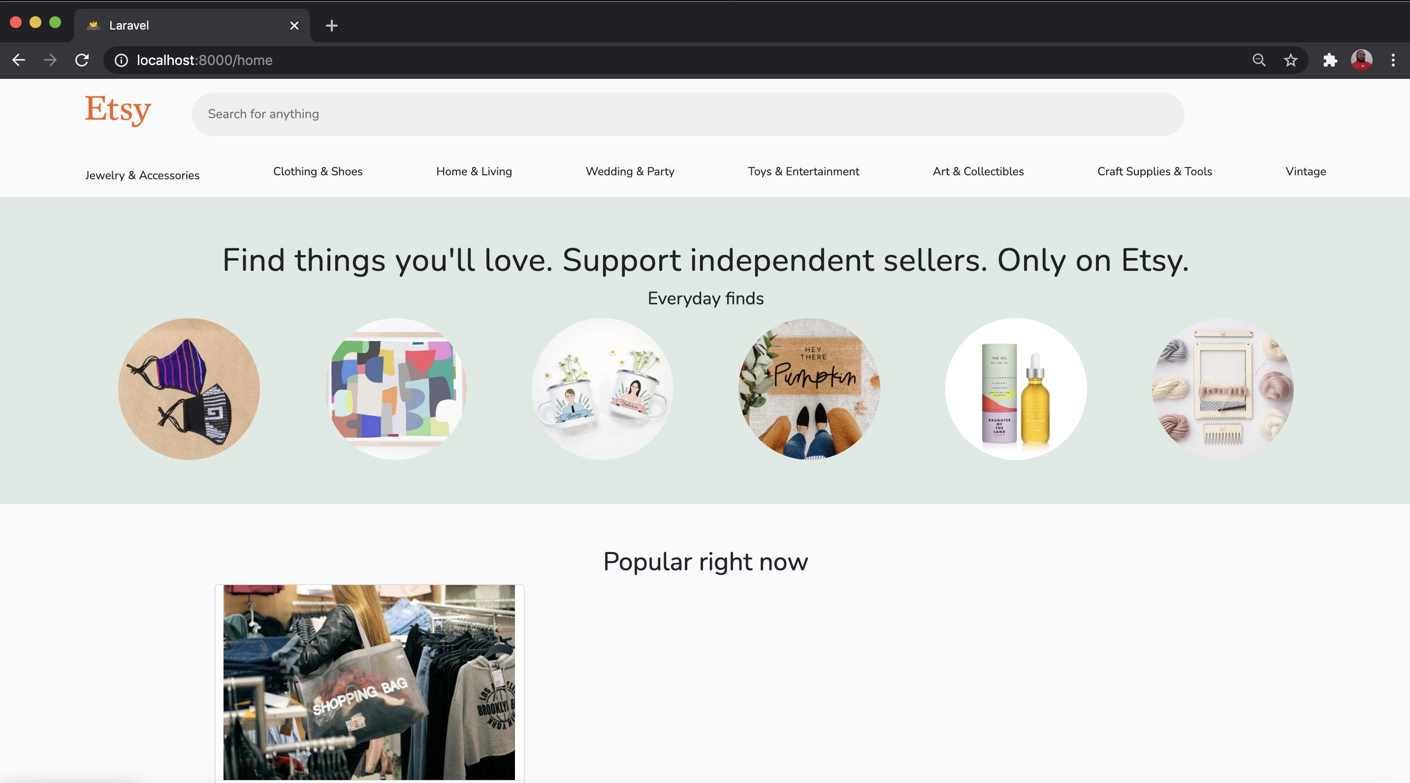 market place (E-commerce) platform