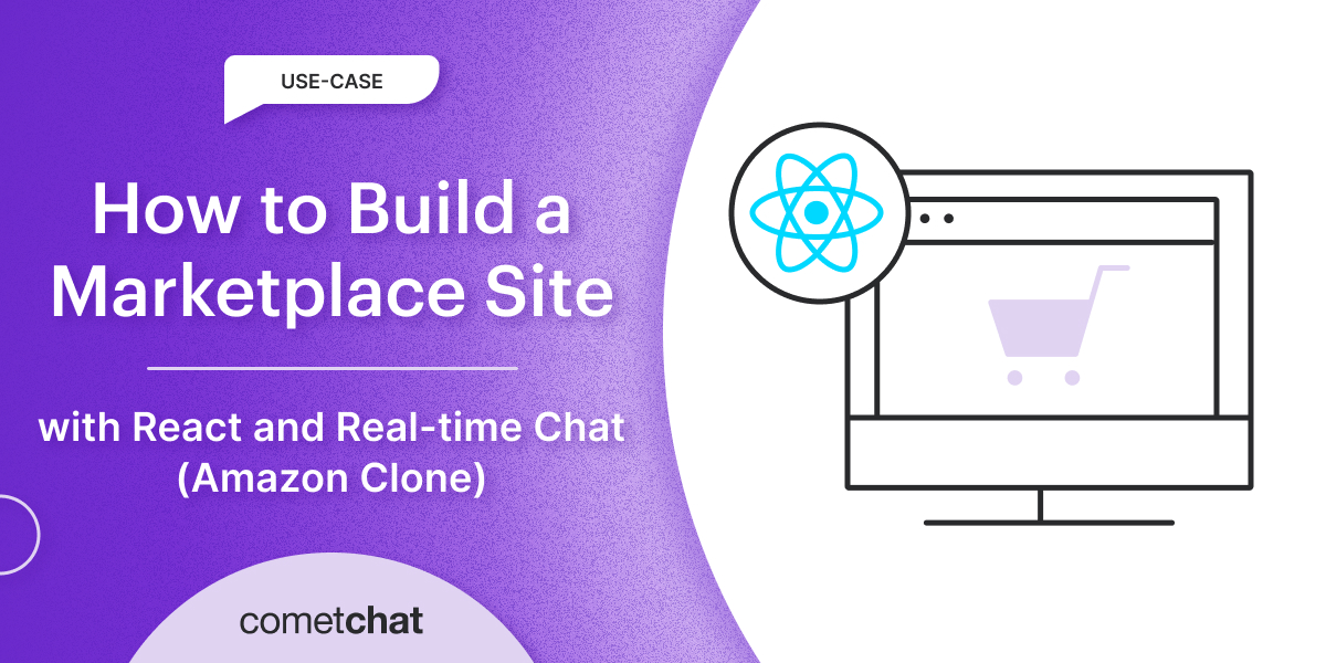 Build Marketplace Site With React and Real-time Chat (Amazon Clone)