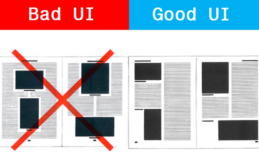 Bad vs Good UI