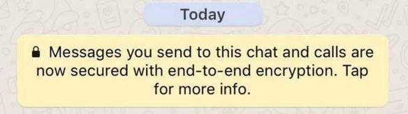 myth of whatsapp end to end encryption