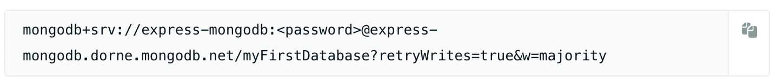 MongoDB url link example