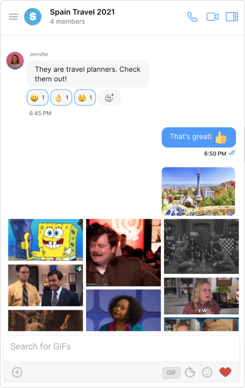 CometChat GIFs