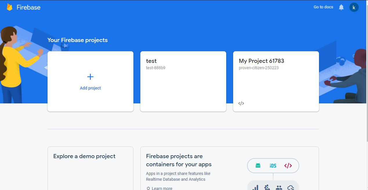 Setting Up Firebase Cloud messaging