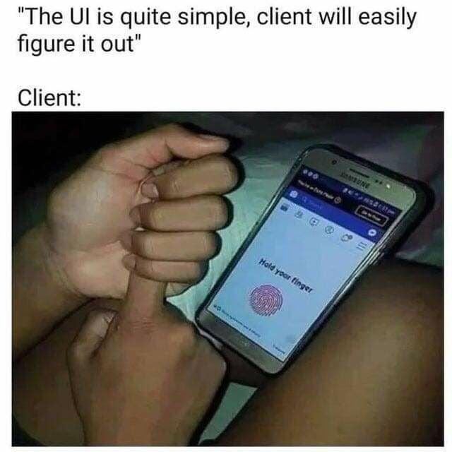 frontend coding meme