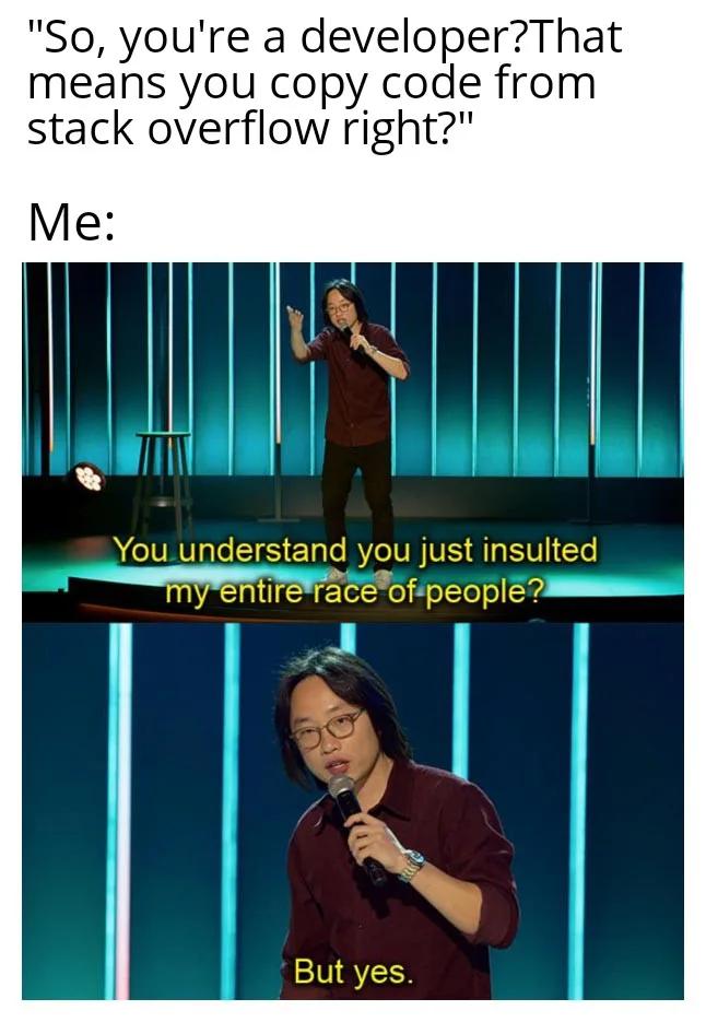 stack overflow meme