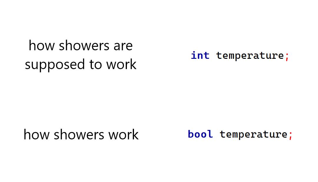 data type coding meme