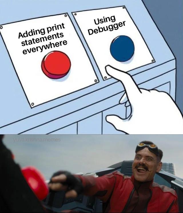 software debugging meme