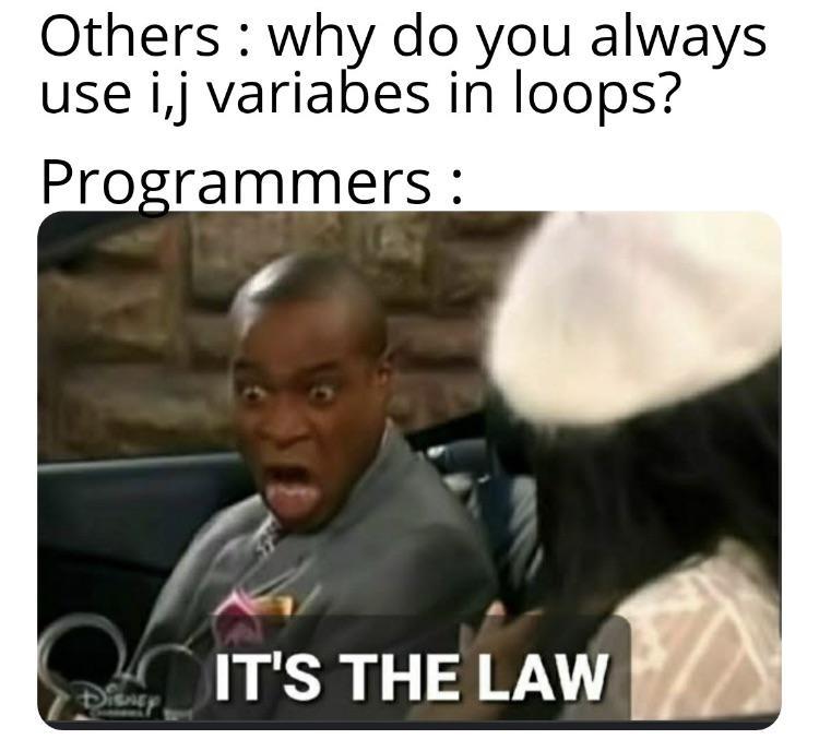 programming variables meme