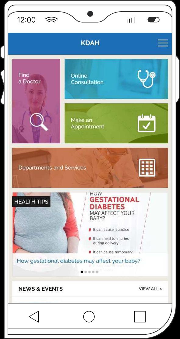 Kokilaben Dhirubhai Ambani Hospital's official mobile app