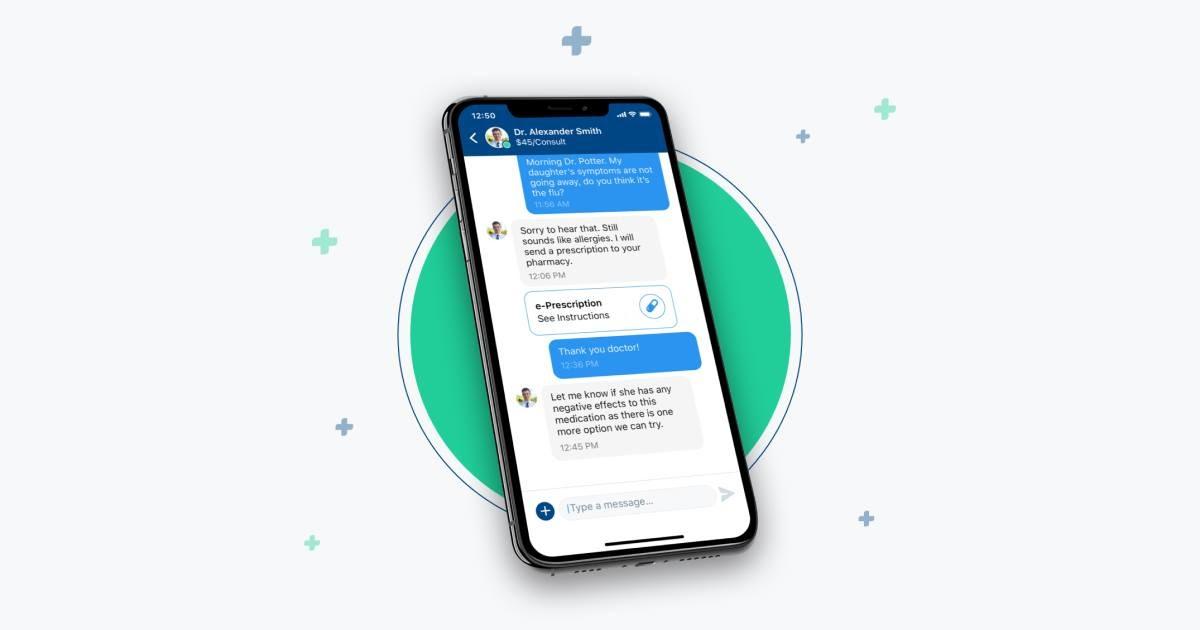 Medici Facebook Messenger chat box