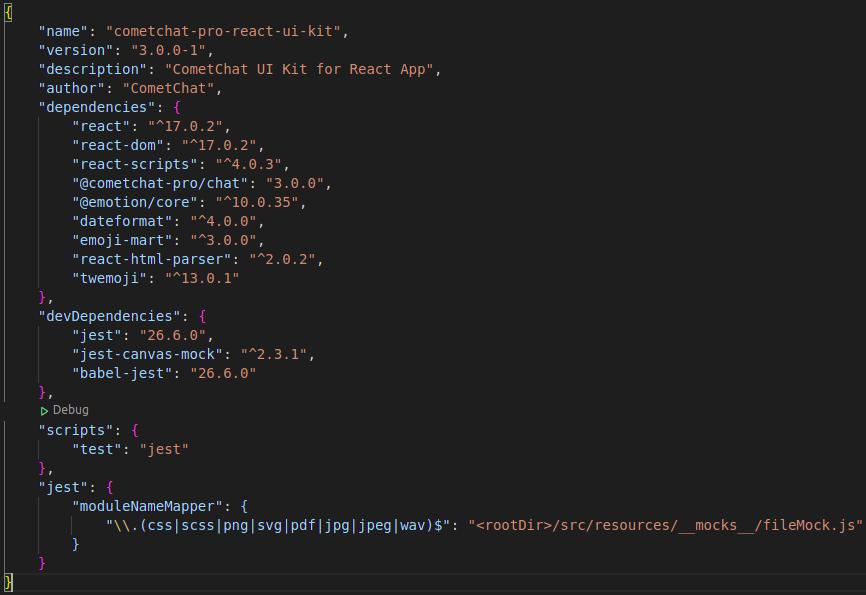 React UI Kit Dependencies