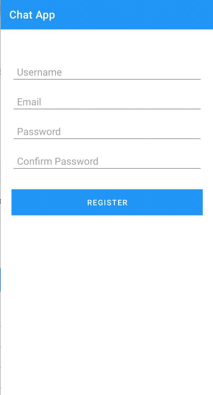The Sign Up Page