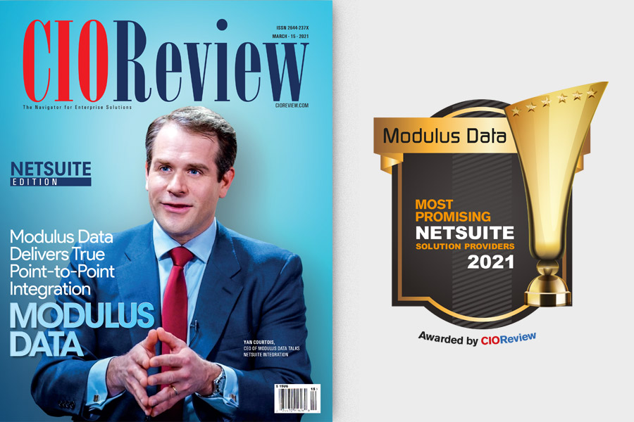 CIO Review's Top NetSuite Solution Providers for 2021: Modulus Data is the Cover Story
