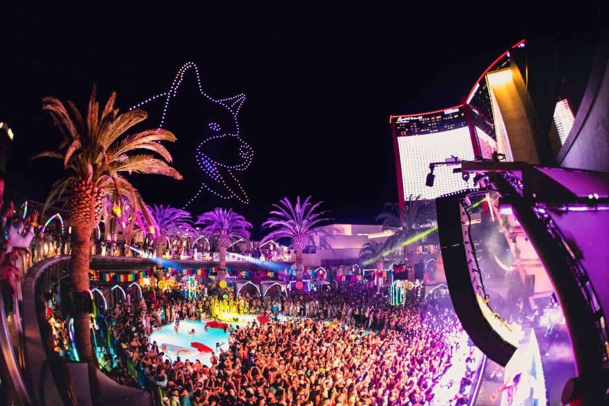 J Balvin Las Vegas pool party