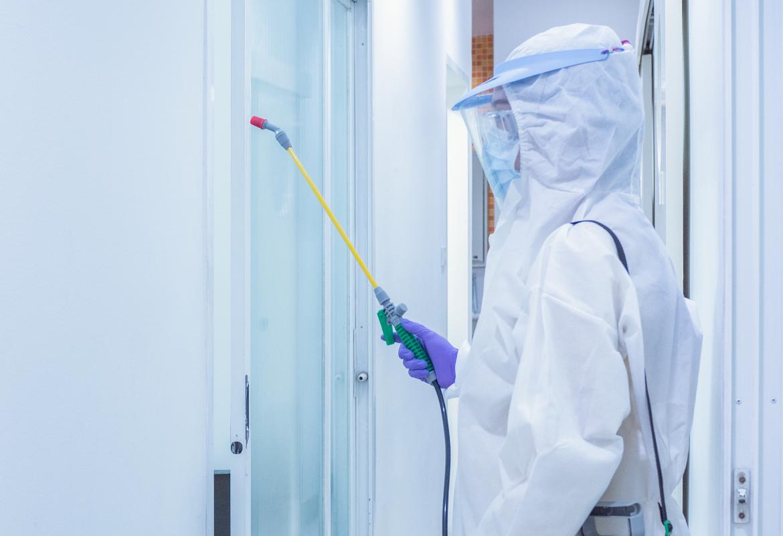 Desinfectie van oppervlakten cruciaal in bestrijden van virussen