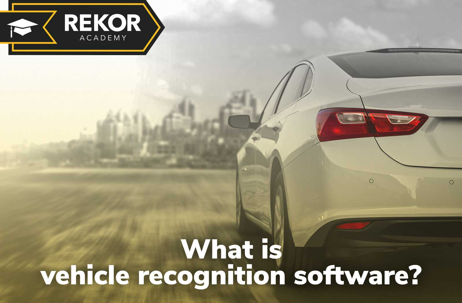 What is vehicle recognition software video thumbnail