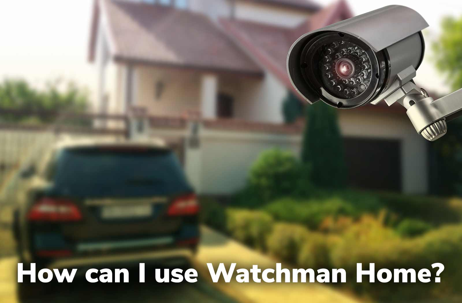 IP camera looking at house video thumbnail